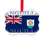 Anguilla.jpg Picture Ornament