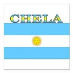 Chela.png Square Car Magnet 3