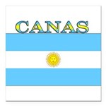 Canas.png Square Car Magnet 3