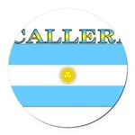 Calleri.png Round Car Magnet
