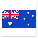 Australiablank.jpg Square Car Magnet 3