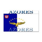 Azores.jpg Rectangle Car Magnet