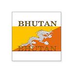 Bhutan.jpg Square Sticker 3