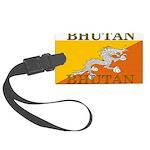 Bhutan.jpg Large Luggage Tag