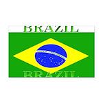 Brazilblack.png Rectangle Car Magnet