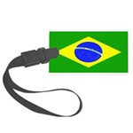 Brazilblank.jpg Large Luggage Tag