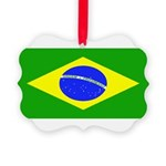 Brazilblank.jpg Picture Ornament