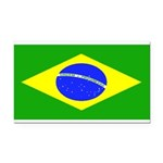 Brazilblank.jpg Rectangle Car Magnet