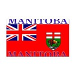 Manitoba.jpg Rectangle Car Magnet