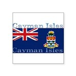 CaymanIsles.jpg Square Sticker 3