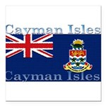 CaymanIsles.jpg Square Car Magnet 3
