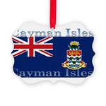 CaymanIsles.jpg Picture Ornament