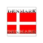 Denmark.jpg Square Sticker 3