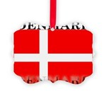 Denmark.jpg Picture Ornament