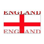 England.jpg Rectangle Car Magnet