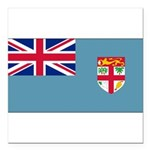 Fijiblank.png Square Car Magnet 3