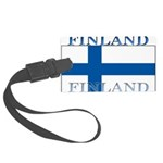 Finland.jpg Large Luggage Tag