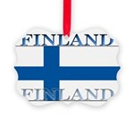 Finland.jpg Picture Ornament