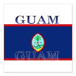 Guam.jpg Square Car Magnet 3