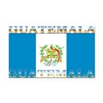 Guatemalablack.png Rectangle Car Magnet