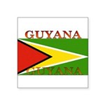 Guyana.jpg Square Sticker 3