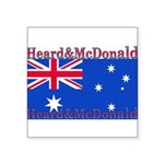 HeardMcDonald.png Square Sticker 3