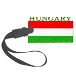 Hungary.jpg Large Luggage Tag