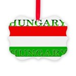 Hungary.jpg Picture Ornament