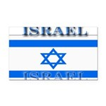 Israel.jpg Rectangle Car Magnet