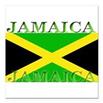Jamaica.jpg Square Car Magnet 3