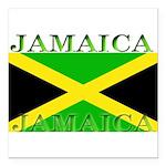 Jamaica.jpg Square Car Magnet 3