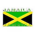 Jamaica.jpg Rectangle Car Magnet