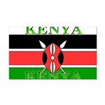 Kenyablack.png Rectangle Car Magnet