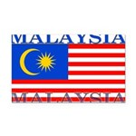 Malaysia.png Rectangle Car Magnet