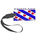 Frieslandblack.png Large Luggage Tag