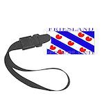 Frieslandblack.png Small Luggage Tag