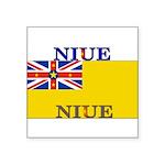 Niue.jpg Square Sticker 3