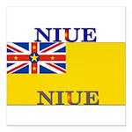 Niue.jpg Square Car Magnet 3