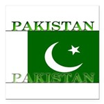 Pakistan.jpg Square Car Magnet 3