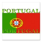 Portugal.jpg Square Car Magnet 3