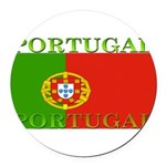 Portugal.jpg Round Car Magnet