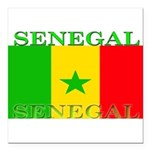 Senegal.png Square Car Magnet 3