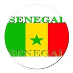 Senegal.png Round Car Magnet