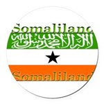 Somaliland.jpg Round Car Magnet