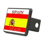 Spainblack.png Rectangular Hitch Cover