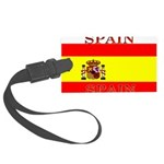 Spainblack.png Large Luggage Tag