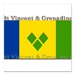 StVincentGrenadine.jpg Square Car Magnet 3