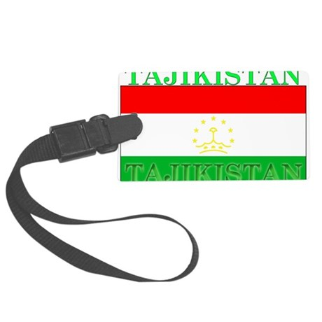 Tajikistan.png Large Luggage Tag