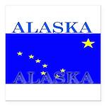 Alaska.png Square Car Magnet 3