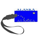 Alaska.png Large Luggage Tag